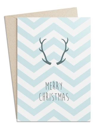 "Weihnachtskarte ""Merry Christmas"""