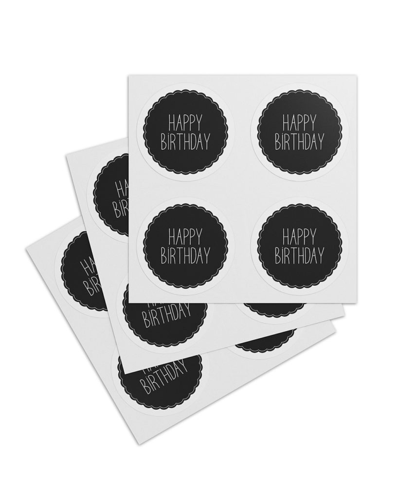 "Sticker ""Happy Birthday"""