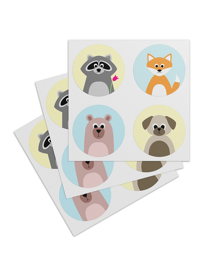 "Sticker ""Bär & Freunde"""