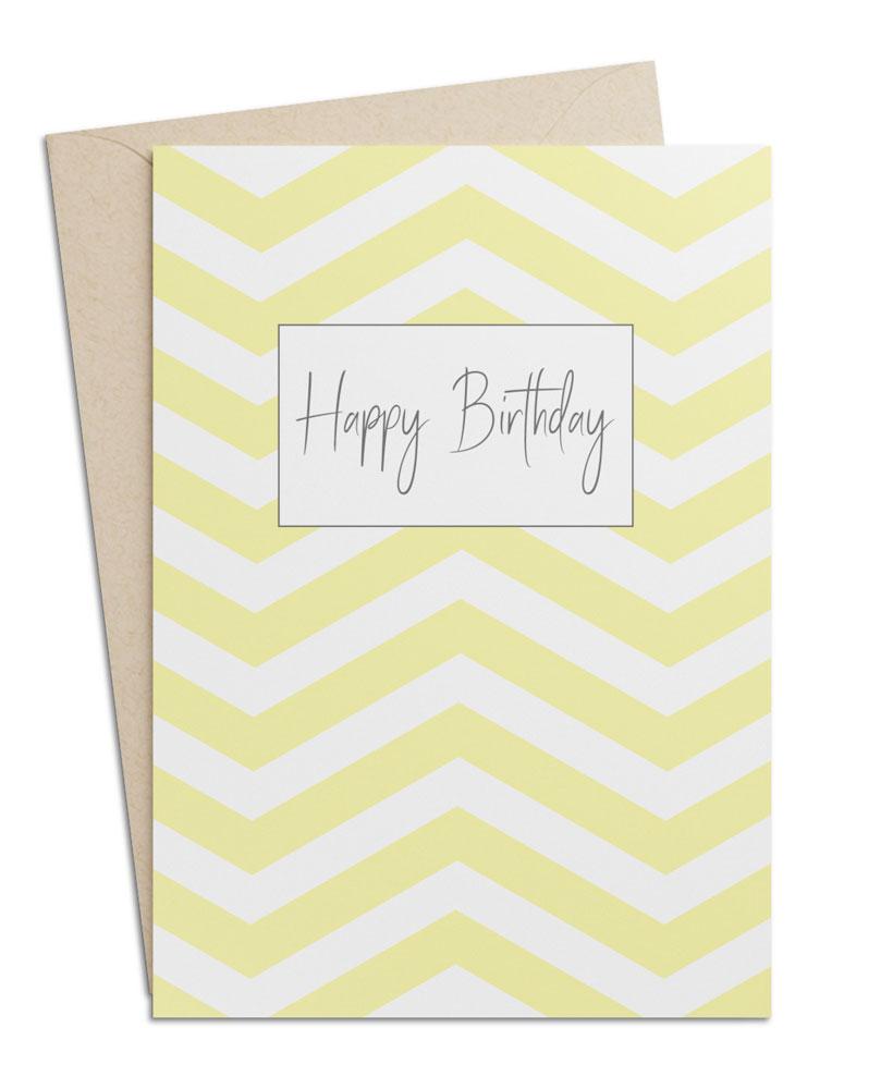 Geburtstagskarte Happy Birthday