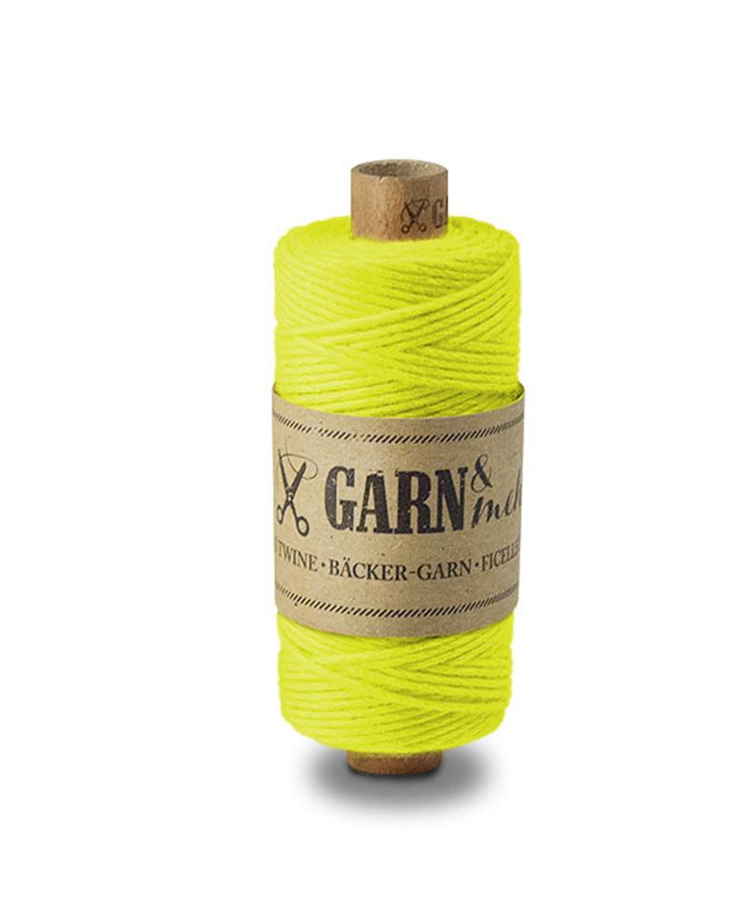 Bäckergarn Neon Gelb von Garn & Mehr