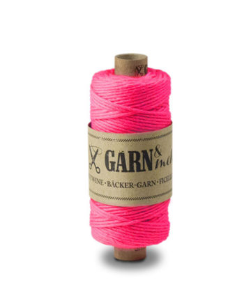 Bäckergarn Neon Pink von Garn & Mehr