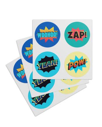 "Sticker ""Comic"""