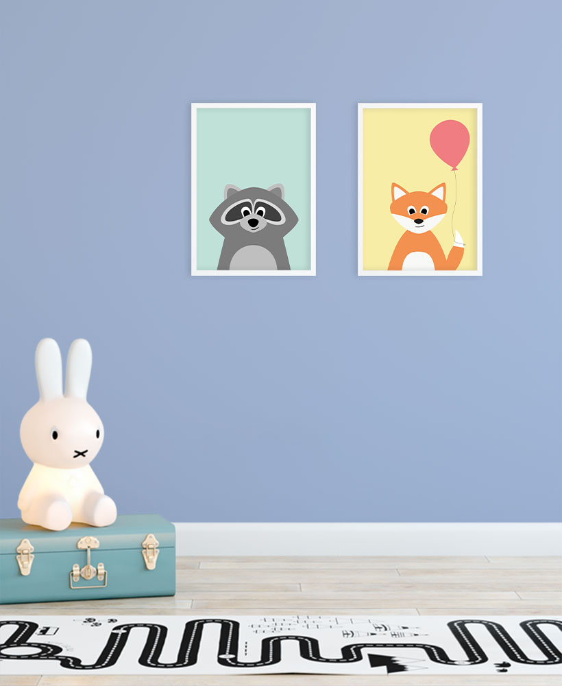 Poster Kinderzimmer Miffy