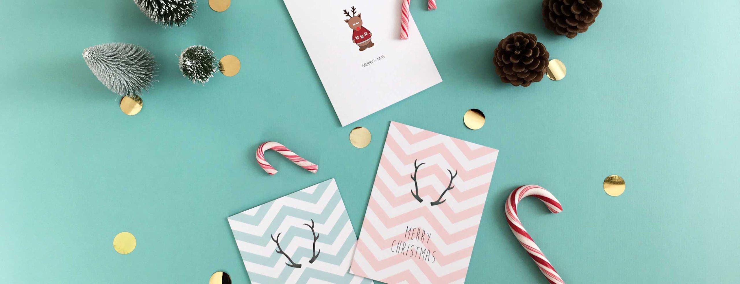 Weihnachten Neujahr: Weihnachtskarte Neujahrskarte