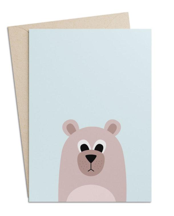 Grusskarte Bär
