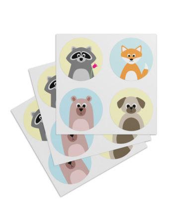Sticker Bär & Freunde